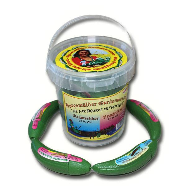 10 x Spreewälder Gurkenwasser Mix Eimerchen